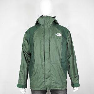 vintage North Face gore-tex jacket L 90's parka me
